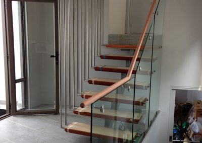 Blue Gum 45mm Round Handrail
