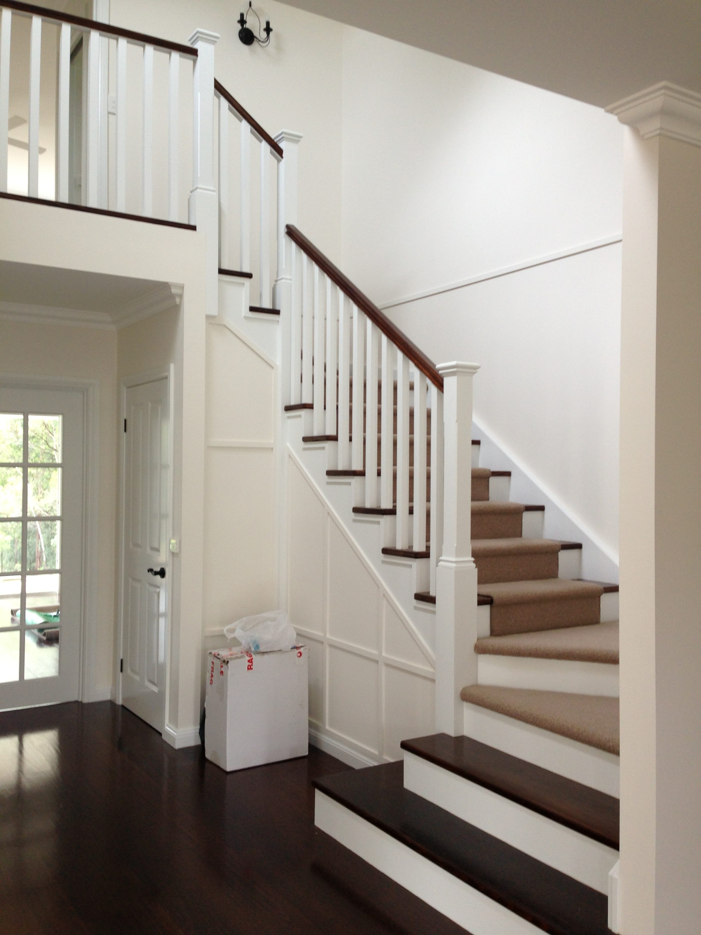Solid Timber Beach House Stairs