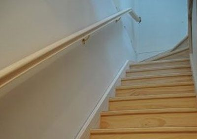 Standard Profile Handrail On Brackets